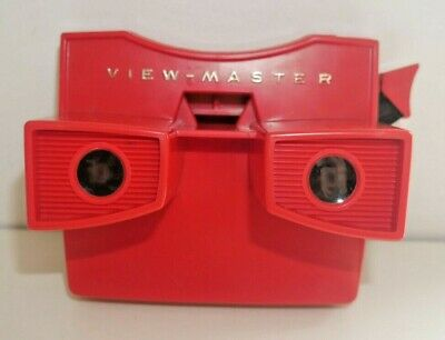 VIEWMASTER RED MODEL G 3-D STEREO VIEWER 1970's RARE EXCELLENT CONDITION   G956 • 24.95£
