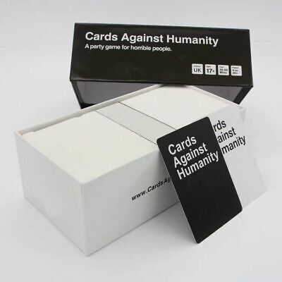 Cards Against Humanity UK V2.0 Latest Edition New  Cards FREE SHIP UK • 13.99£