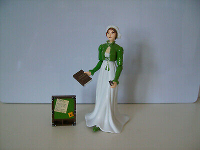 Accoutrements Jane Austen Action Figure (green Jacket) - Quill,book,writing Desk • 24£