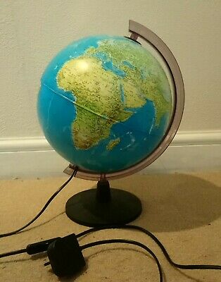 Tecnodidattica Light Up Globe Night Light Planet Earth • 16.49£