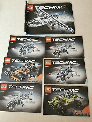 Lego Technic Guide Manual Bundle 7 Manuals Only • 5.99£