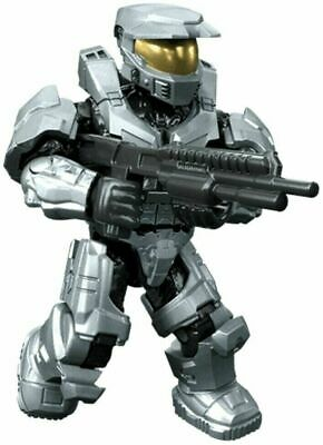 Mega Construx HALO CLASH ON THE RING Series SPARTAN MARK V,SILVER  NEW In BAG • 11.99£