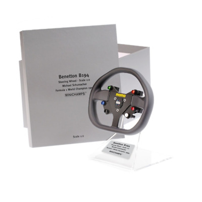 1/2 Minichamps Michael Schumacher Benetton Ford B194 1994 Steering Wheel • 105£