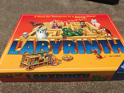 Labyrinth Board Game - Ravensburger - Children's Game -the Crazy Family Game • 12£