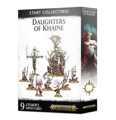 Start Collecting! Daughters Of Khaine Games Workshop Brand New 99120212022 • 49.50£