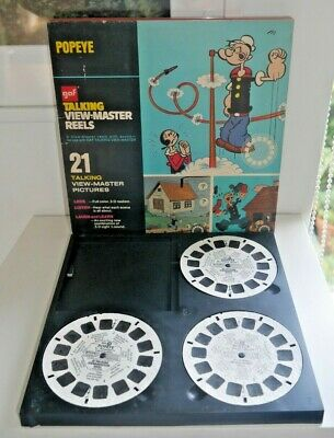Popeye 1962 Talking Viewmaster Reels Set Avb516 Rare   H172 • 14.95£