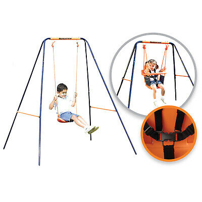 Childrens Hedstrom Deluxe 2 In 1 Swing Converts Toddlers Harness To Junior Seat • 84.95£