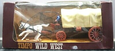 Rare Timpo Toys 271 Wild West Wagon Series Covered Wagon Boxed • 150£