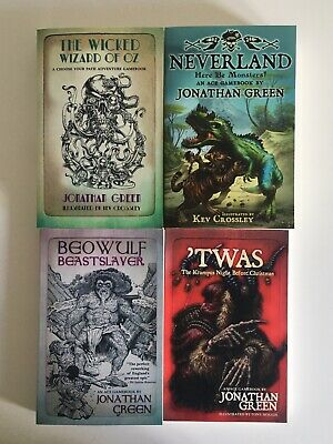 ACE Gamebooks Bundle - 4 Choose Your Own Path Gamebooks By Jonathan Green • 32£