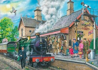 House Of Puzzles 1000 Piece Jigsaw Puzzle - Bringing Them Home - New & Sealed • 15.99£