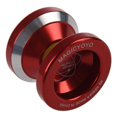 Magic Yo-Yo N8 Super Professional YoYo + String + Free Bag +Free Glove (Red) ZC • 7.99£