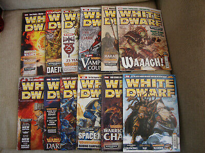 White Dwarf 2008 Complete Collection • 20£