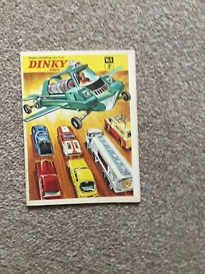 Dinky Toys Catalogue No5 • 20£
