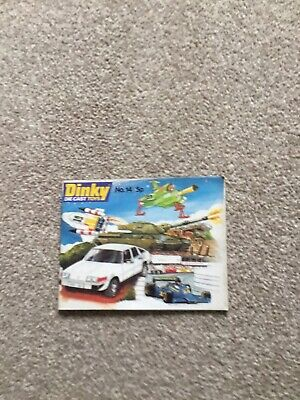 Dinky Toys Catalogue No 14 • 12£