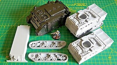 Warhammer 28mm Compatible ATV Infantry Support Vehicle APC Rhino Alternative • 18£