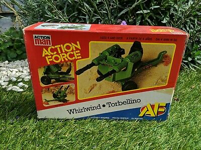 Vintage Action Force Whirlwind Cannon New Unused Contents Boxed Palitoy • 54£