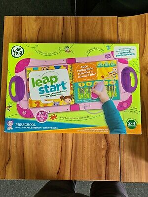Leapfrog Leapstart - (2 To 4 Years ) Brand New . (Pink And Purple) • 30£