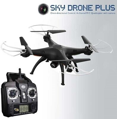 RED5 Sky Drone Plus With Camera - Black • 79.98£