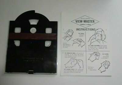 Sawyer's Viewmaster Compact Viewer & Instructions 1960 Ultra Rare / Scarce  F859 • 175£