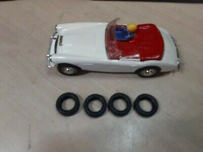 Scalextric New  Grippy Tyres For  C74 Austin Healey Superb  • 8£