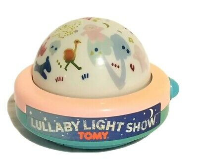 TOMY First Fun Lullaby Light Show Windup Musical Night Light Projector 1987 • 54.99£