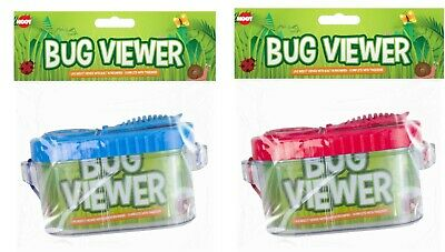 Bug Insect Viewer Magnifying Box With Rope Backyard Kids Outdoor Toys • 5.99£