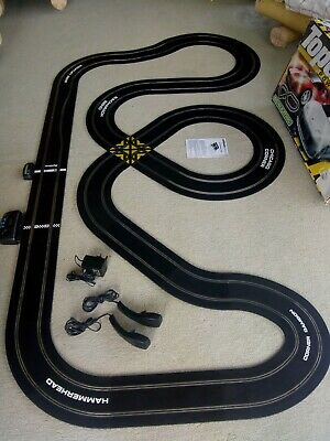 Extra Sized 1:32 Scalextric Sport Track Set With Digital Lapcounter • 62.50£