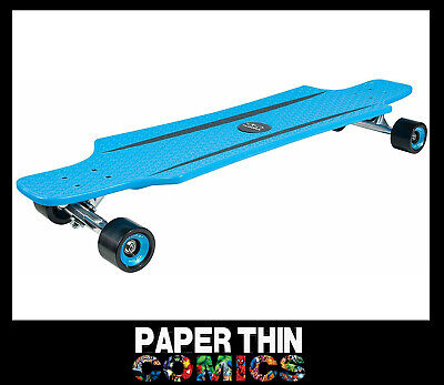 Hudora Cruisestar Cut-out Complete Longboard 36  Skateboard Blue/black • 44.95£