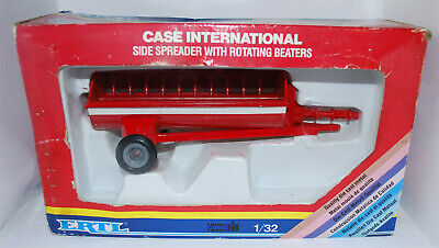 ERTL - CASE INTERNATIONAL SIDE SPREADER - 1/32nd SCALE - MINT AND BOXED • 9.99£