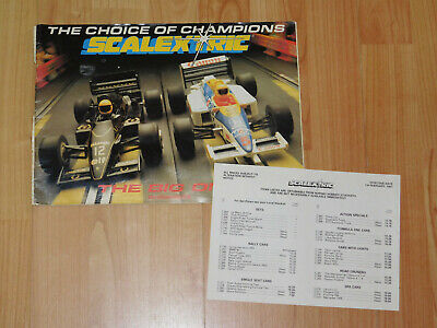 Scalextric 28th Edition Catalogue • 8£