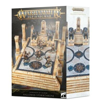 Dominion Of Sigmar: Hallowed Stormthrone Games Workshop Brand New 99120299055 • 54£