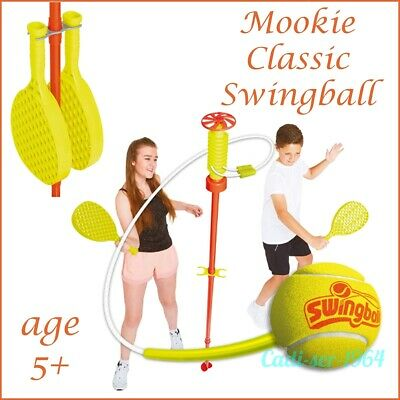 Swingball Classic Play Set Mookie Family Fun Garden Game 1.6m Spike In Ground • 44.99£