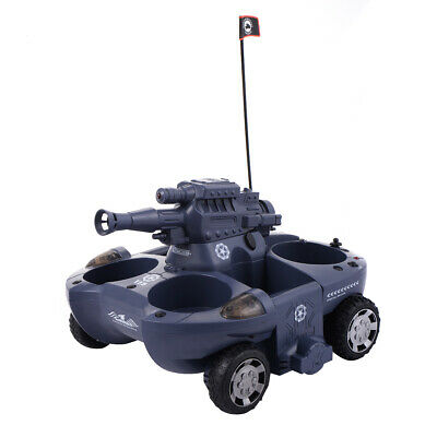 2.4G 12 CH Remote Control Amphibious Tank RC BB Bullets Cannon - Tank Turns Into • 11.39£