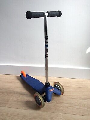 Mini Micro Scooter 3 In 1  T/bar Handles & Sit Down Seat • 16£