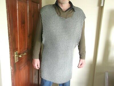 Chain Mail Tunic  * Larp * ** Medieval  Style ** Historical Reenactment ** • 135£