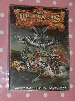Warrior Knights Board Game, Vintage. Complete In Very Good Condition. • 45£