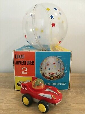 Rare Vintage Battery Operated Space Toy Lunar Adventurer Palitoy Hong Kong Boxed • 50£