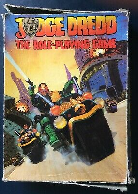 Judge Dredd: The Role Playing Game - Games Workshop, 1985 • 6.99£