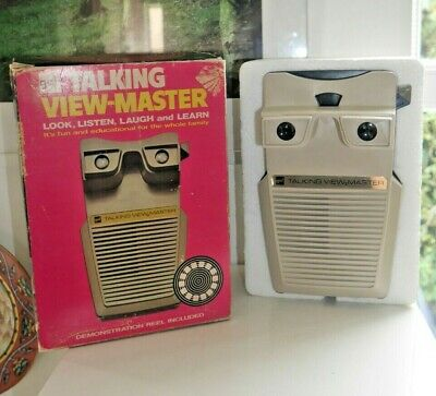 Vintage Gaf Talking Viewmaster Stereo Viewer 1973 Rare Boxed & Working  H380 • 44.95£