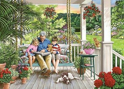 House Of Puzzles Big 500 Piece Jigsaw Puzzle - Storytime - New & Sealed • 15.99£
