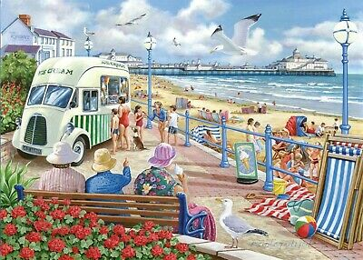 House Of Puzzles 1000 Piece Jigsaw Puzzle - Sun, Sea & Sand - New & Sealed • 15.99£