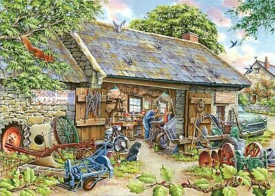 House Of Puzzles 1000 Piece Jigsaw Puzzle - Make And Mend - New & Sealed • 15.99£
