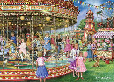 House Of Puzzles 1000 Piece Jigsaw Puzzle - Gallopers  - New & Sealed  • 15.99£