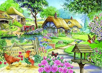 House Of Puzzles Big 500 Piece Jigsaw Puzzle Brampton Collection  Country Living • 15.99£