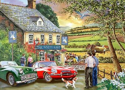 House Of Puzzles 1000 Piece Jigsaw Puzzle - Pleasant Evening - New & Sealed • 15.99£