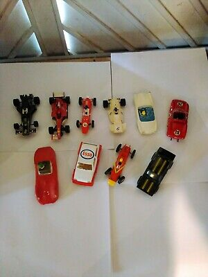 10 Scalextric F1 Cars, Unboxed Scrapyard • 11.51£