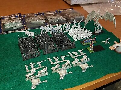 Warhammer Fantasy WARMASTER Elf Army - Partially Assembled/painted • 46£