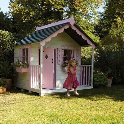 Handmade Child's Wooden Playhouse • 400£