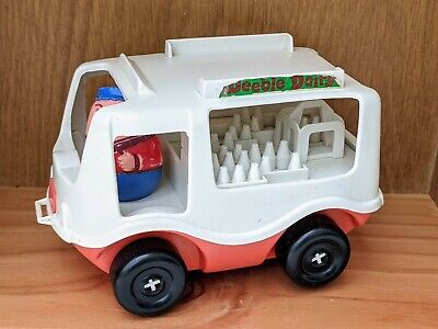 Vintage Airfix Weebles Weeble Dairy Milk Float And Driver Figure Toy Vehicle  • 25.21£