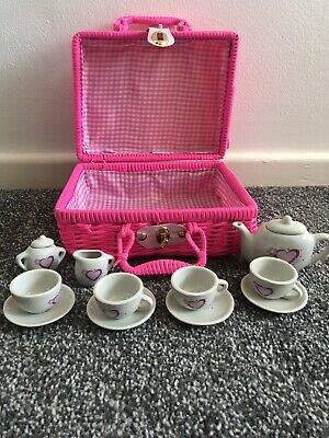 Childrens Play Tea Set Party • 6.99£